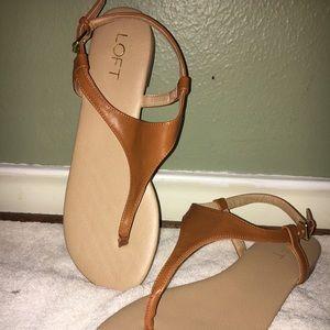 Loft light brown sandal